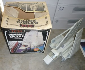 BOXED imprial shuttle