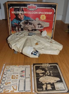 millenium falcon empire strike back boxed