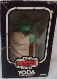 yoda puppet 12 POUCES MIBS